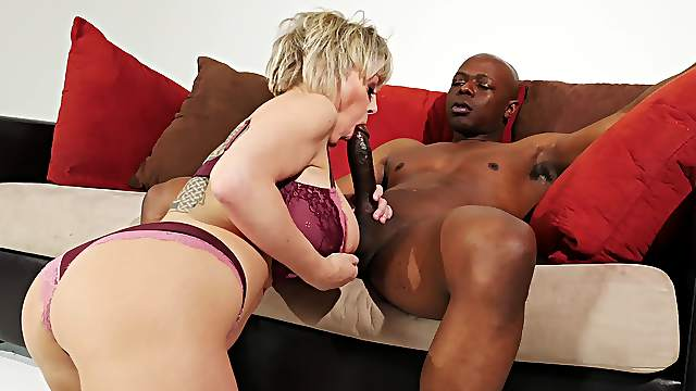 Premium mature handles a big black dick like a real goddess